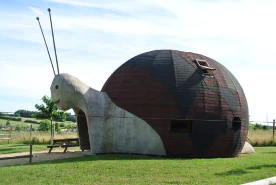 Les maisons en forme d'animaux du domaine de dienne